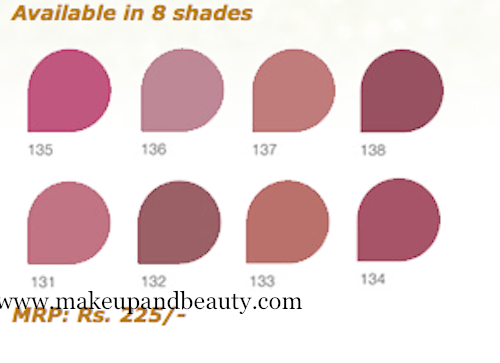 lakme-lipstick-shade-cardLakme Lipstick Shade Card With Shade Number With Price