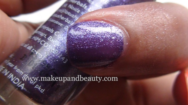 lotus herbals nail paint 85 purple star