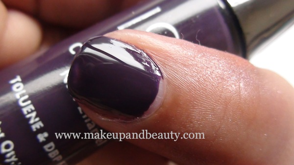 lotus herbals nail paint 87 plum delight