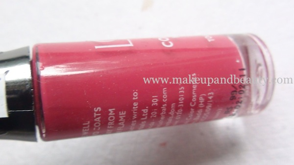 lotus herbals nail paint 98-playful-pink