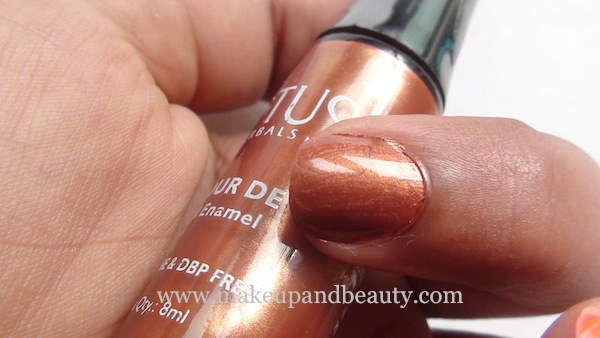 Lotus Herbals Nail Paint 97 Nutty LOve