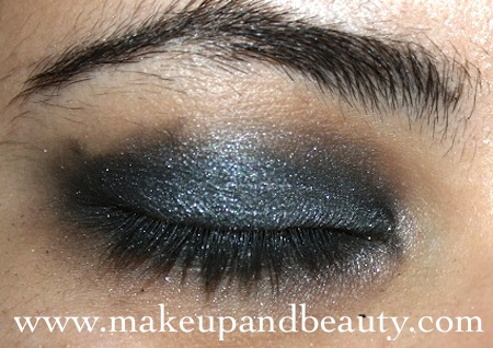 grey eyeshadow
