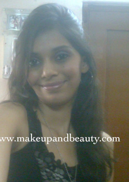 Indian Party Makeup. makeup lakme rose powder 99