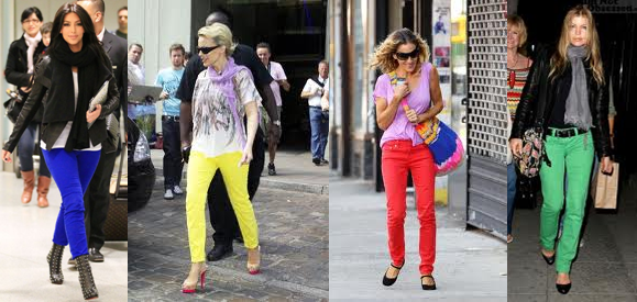 How to Wear Bright Colored Jeans – Indian Makeup and ...