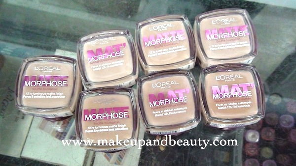 loreal matte morphose foundation
