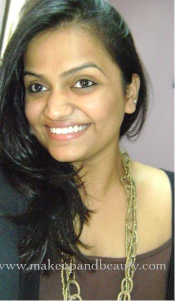 Indian Party Makeup. Oriflame Giordani Gold Makeup