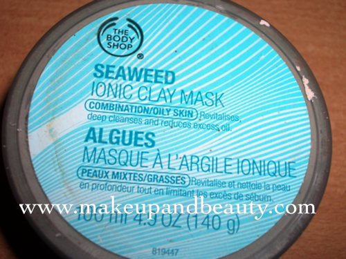 tbs sweaweed clay mask