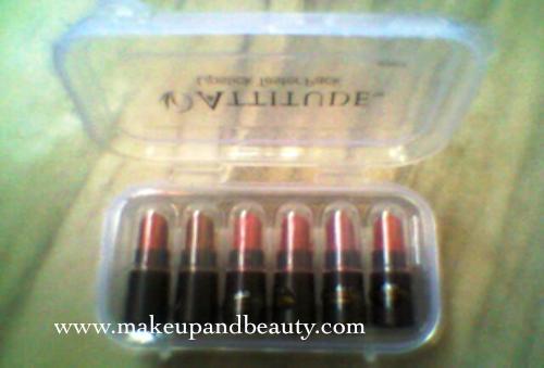Amway Attitude Lipstick tester Pack