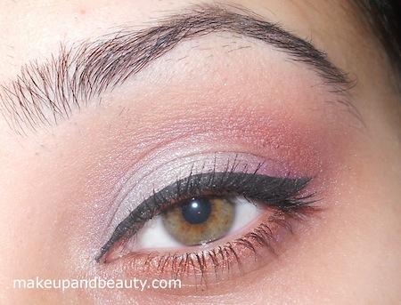 final plum eye makeup