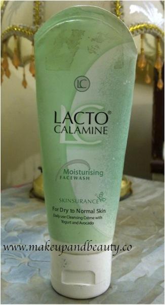 lacto calamine moisturizing face wash