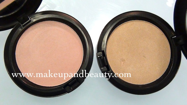 MAC Stylishly yours Beauty Powder Photos Swatches – Indian Makeup