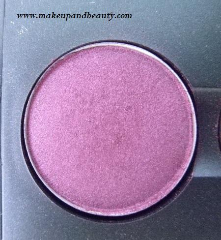 MAC Eyeshadow Plum Dressing Review, Swatch and EOTD
