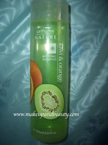 oriflame kiwi orange boosting shampoo