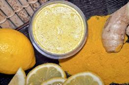 lemon face pack