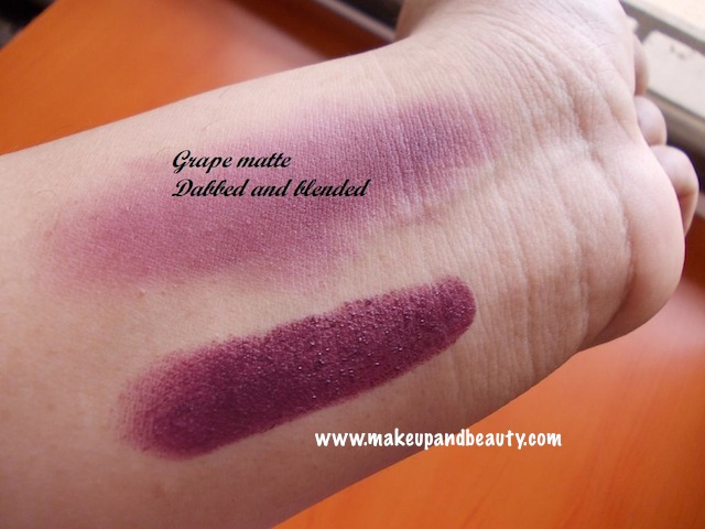 grape matte blended