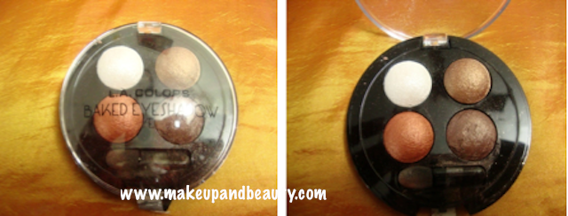 la colors baked eyeshadow review