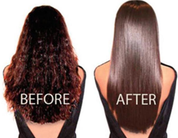 Hair straightening methods at home