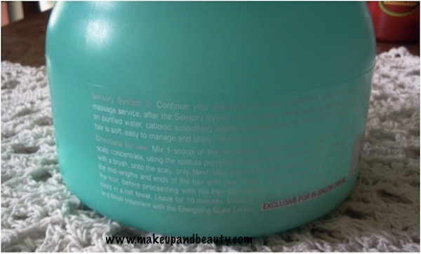 L'oreal Hair Spa smoothing cream bath review