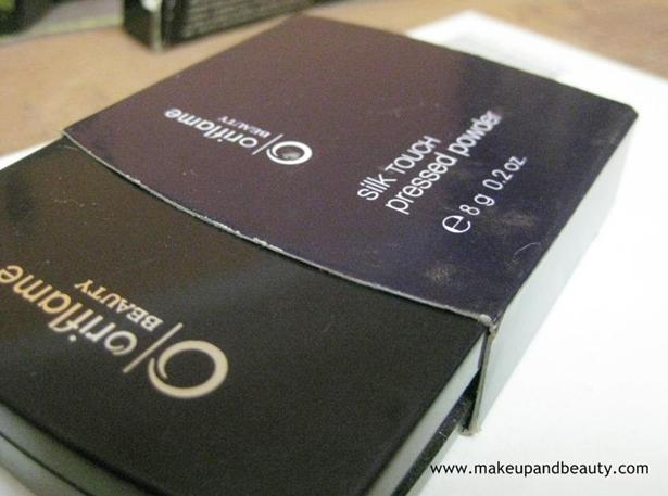Oriflame Beauty Silk Touch Pressed Powder Review