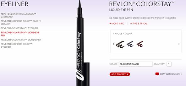 Revlon Colorstay Liquid Eye Pen Review