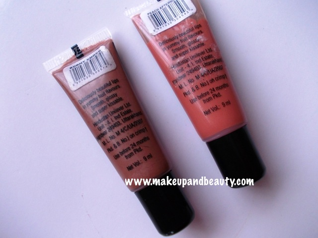 elle 18 lip smoothie peach afterglow