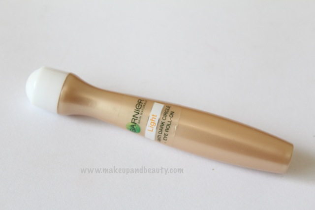 Garnier Caffeine Anti Dark Circles Tinted eye Roll on review
