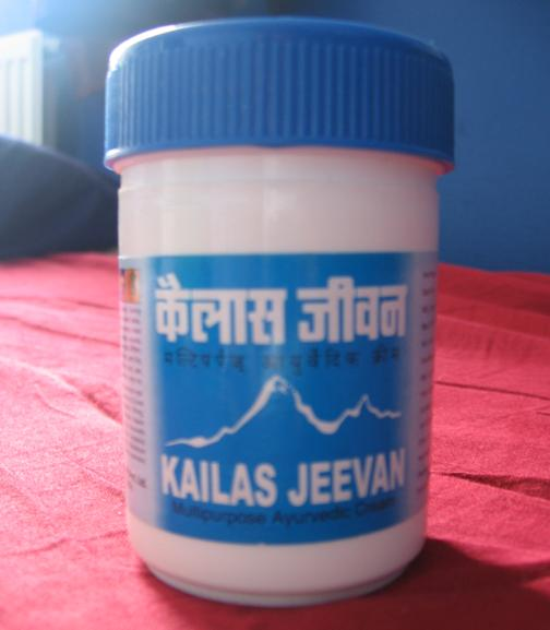 kailas jeevan multipurpose ayurvedic cream