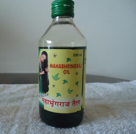 mahabhringraj oil bottle