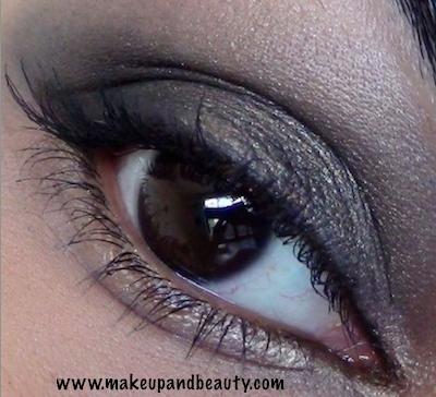 nars night clubbing eyeshadow look