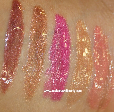 swatches revlon colorburst lipgloss ( flash)