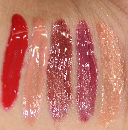swatches revlon colorburst gloss 004 18 Revlon Colorburst Lipgloss Photos, Swatches
