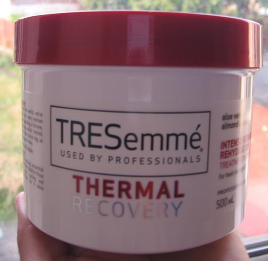tresemme thermal recovery intense repair rehydration masque