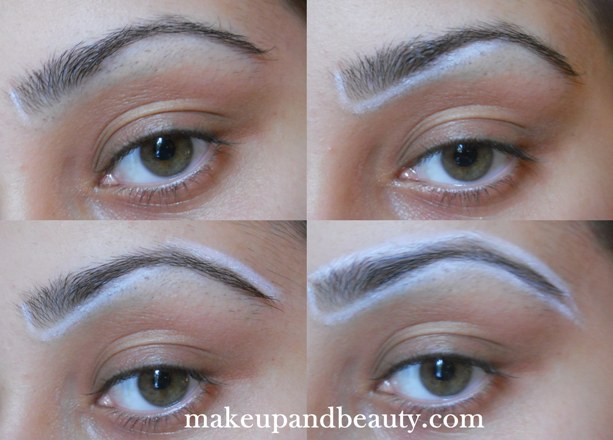 how to draw your eyebrows with a pencil