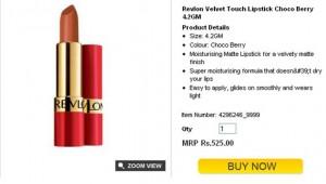Revlon Velvet Touch Choco Berry