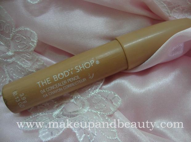 The Body Shop Concealer pencil shade 04