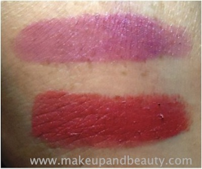 avon simply pretty colorbliss lipstick swatches