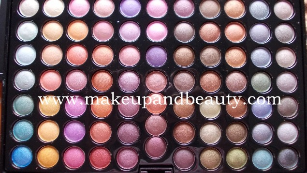 bhcosmetics 88 colors palette tropical shimmer eyeshadow palette