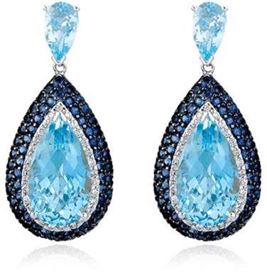 Dangle Earrings A Fashion Statement Indian Makeup And