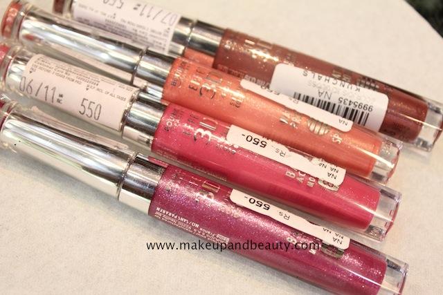 bourjois 3d effet lipgloss