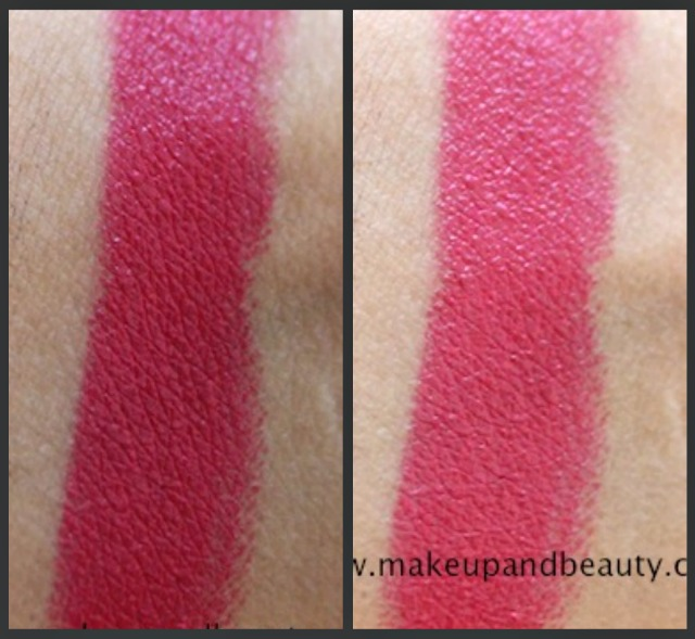 estee lauder pure color lipstick raspberry swatch