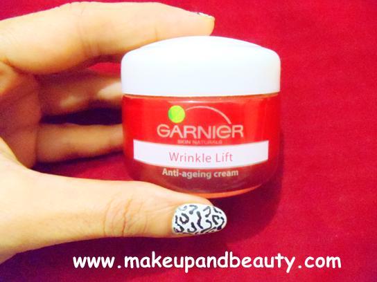 garnier wrinkle lift antiageing cream