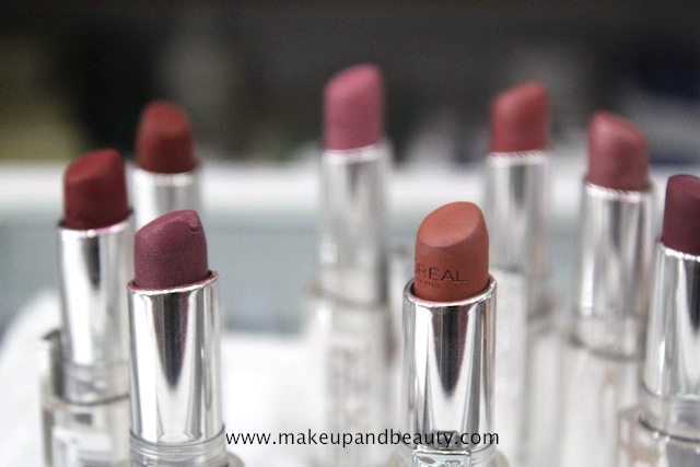 8 L Oreal Infallible Lipstick Photos Swatches