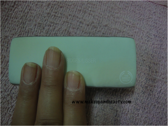 The Body Shop Nail Block Review Indian Makeup And Beauty Blog