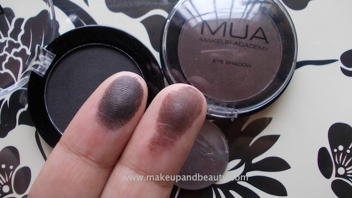 DSCN3810 MUA (Makeup Academy) Matt Eyeshadow Review, Swatches