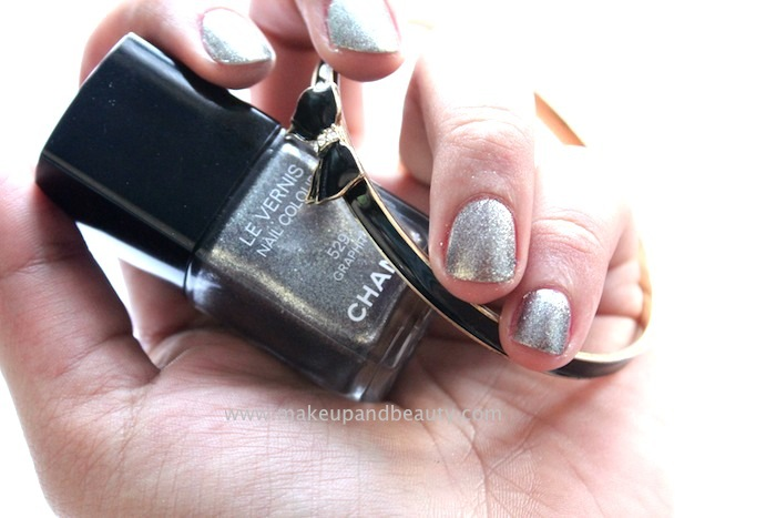 Chanel Graphite Nail Polish