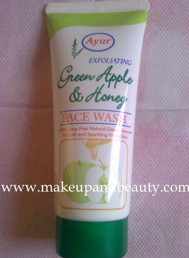 ayur+green+apple+and+honey+face+wash Ayur Green Apple and Honey Face Wash Review