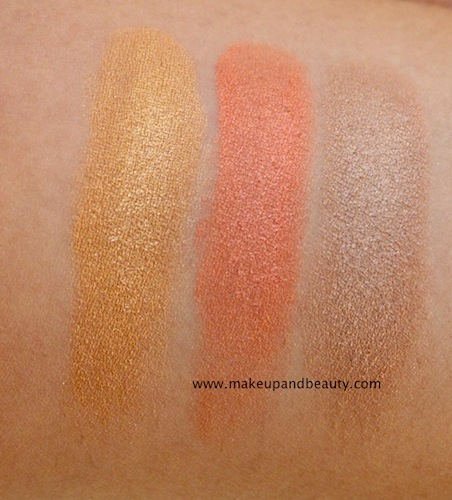 colorbar baked bronzer swatches