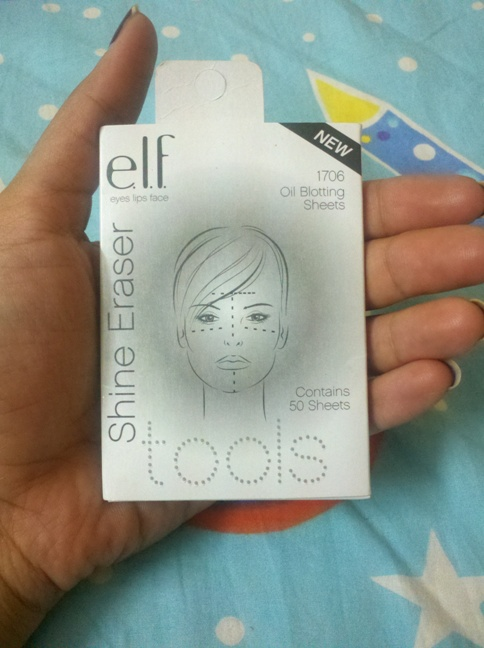 ELF Shine Eraser Oil Blotting Sheets