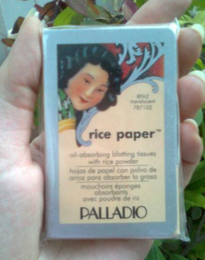 Palladio Rice Paper Oil Absorbing blotting Tissues Review