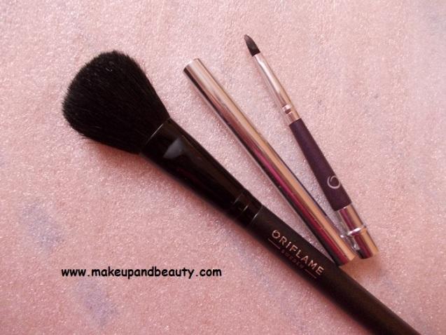 Oriflame brushes